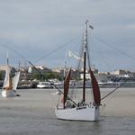 Le Biche et L'Etoile Molène, Tall Ships Regatta 2018, Bordeaux, Gironde, Nouvelle-Aquitaine, France. thumbnail
