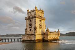 Torre de Belém (Chuck - PhotosbyMCH.com) Tags: photosbymch landscape cityscape sunset castle fortress torredebelém belémtower towerofstvincent lisbon lisboa portugal europe 2018 canon 5dmkiv travel historicalsite
