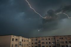 Lightning / 2011-05-26 (astrofreak81) Tags: lightning blitz gewitter donner knall regen rain dresden clouds wolken