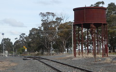 Water Tank, Korong Vale, Victoria (Diepflingerbahn) Tags: watertank korongvale victoria robinvaleline kulwinline standardgauge murraybasinrailproject