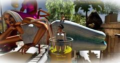 Giant Friendly new Sim OPEN! (Chioma Namiboo Jinn) Tags: voodooinmyblood secondlife sl wl windlights giantess giant explore exploring secondlifeexploration fun beach beautiful beauty best megan prumier vivresavie sofie janic windlight sun sunglasses summer