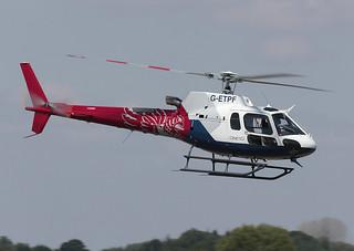 AS350B3 Ecureuil G-ETPF QinetiQ