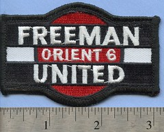 Freeman United Coal Patch (Coalminer5) Tags: coalmining coalminer coalmemorabilia coalcollectibles patch sewonpatch mining miningmemorabilia miningcollectible miningartifacts miner illinoiscoal freemancoalcompany freemancoalminingcorporation orientcoal sesser waltonville