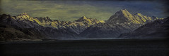 Across Pukaki to the Cook Range (NZ) (desimage) Tags: aoraki pukaki mountcook newzealand textured desimage mountains atmospheric dramatic