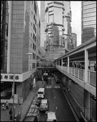 hongkong_scan-2018-06-19-0005 (qwz) Tags: гонконг hongkong architecture cityscape pentax67 skyscraper footbridge street