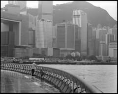 2018-06-19-00032 (qwz) Tags: гонконг hongkong pentax67 sea harbour skyscraper embankment architecture people cityscape