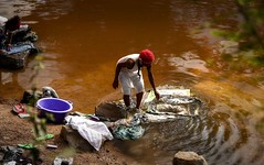 Riverside (Rod Waddington) Tags: africa african afrique afrika madagascar malagasy women washing clothes river riverside water outdoor culture cultural ethnic ethnicity
