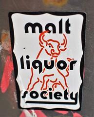 Malt Liquor Society (rabidscottsman) Tags: scotthendersonphotography sticker graffiti bull maltliquor schlitzmaltliquor maltliquorsociety moo canada britishcolumbia vancouver vancouverbritishcolumbia nikon nikond7100 d7100 35mm nikkor nikkor35mmf18 primelens vacation travel internationaltravel