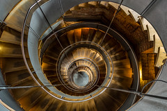 Time Tunnel (david.travis) Tags: artgallery topview unitedkingdom scotland mackintoshcentre spiral glasgow