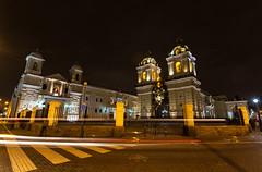 Church of San Francisco - EXPLORED (June 17, 2018) (JD~PHOTOGRAPHY) Tags: lima peru cathedral church convent sanfranciscocathedral faith romancatholic longexposure lights nightlights canon canon6d