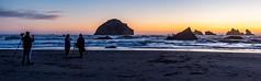 Last Light at Face Rock (Ranbo (Randy Baumhover)) Tags: oregon oregoncoast pacificocean sunset water bandon