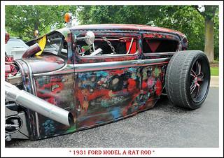 1931 Ford Model A Rat Rod