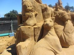 Under the Sea, Frankston Sand Sculptures, 2012 (d.kevan) Tags: underthesea sandsculptures frankston victoria 2012 introdustion seacreatures words titles