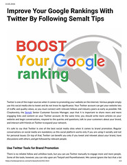 Improve Your Google Rankings With Twitter By Following Semalt Tips (unkautomobile) Tags: semalt seo marketing tips