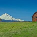 Mt Hood and Barn 7588 B thumbnail
