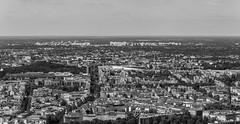 Berlin (wpt1967) Tags: aussicht berlin bummiturm eos6d fernsehturm hauptstadt häuser sonnig strassen bw canon100mm capitalcity sonnigertag sw televisiontower wpt1967