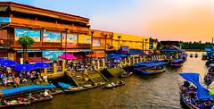 Amphawa Floating Market Thailand-36a (Yasu Torigoe) Tags: thailand travel sony a99ii asia amphawa floating market culture