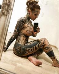 690 (Redbelleu) Tags: tattoos tattoo hot girlswithtattoos girls studio seduction sexy redbelleu erotic