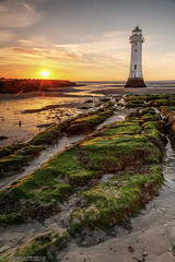 Perch Rock-1 (andyyoung37) Tags: perchrock perchrocklighthouse reflections leadinglines lowtide settingsun sunset