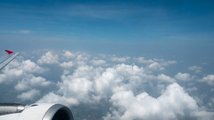 Beauty sky and  clouds in nature look from the plane window (@touch1976) Tags: air beautyinnature clouds cloudscape day fluffy fly flying fog fresh hight landscape light nature nopeople outdoor plane shadow sky sunlight tourism travel view wave weather