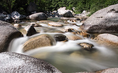 La Beaume (Xruuovtb) Tags: river beaume ardeche france long exposure water rock movement pebbles