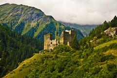 Tschanüff ruins, Ramosch, Switzerland (echumachenco) Tags: valsot ruins castle tschanüff ramosch unterengadin grisons grischun graubünden switzerland schweiz suisse svizra svizzera suiza alps august nikond3100