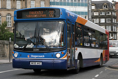 22341 NK55 AHZ (Cumberland Patriot) Tags: stagecoach north east england busways travel services newcastle upon tyne and wear pte passenger transport executive man 18220 alexander alx 300 alx300 22341 nk55ahz