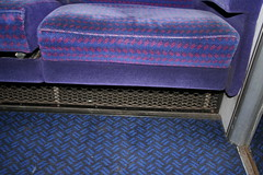 Mk2 BSO S9392 Int (68) (Transrail) Tags: mk2 coach carriage interior passenger train railway britishrail seat window carpet guardcompartment brakestandardopen bso