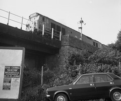 Looks like Hayle. (Renown) Tags: train railway railways railroad br britishrail diesel loco locomotive ee englishelectric class50 50008 hayle cornwall morris marina