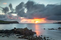 St Ninians Isle Sunset (phil_shawk) Tags: shetland sunset uk coast scotland water