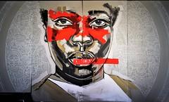 Art by  Hatimax Sebintu (zoe sarim) Tags: germany hamburg streetart millerntorgallery