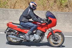 1983 Laverda RGS1000 (Charles Dawson) Tags: a321hbv m4 laverda motorcycle