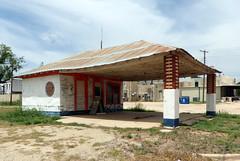 Old Gulf Station (BOB WESTON) Tags: milestexas