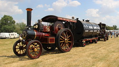 Heavy Haulage (Duck 1966) Tags: steam tractionengine burrell rempstonesteamcountryshow boiler load trailer