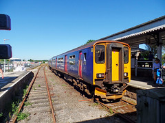 150219 St Erth (1) (Marky7890) Tags: gwr 150219 class150 sprinter 2a36 lelantsaltings railway cornwall stivesbayline train
