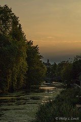 The River Welland at Stamford 2 (Philip Lench) Tags: stamford lincolnshire riverwelland sunset