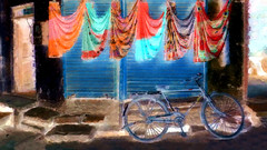 India - Rajasthan - Jaisalmer - Streetlife - 86bb (asienman) Tags: india rajasthan jaisalmer streetlife asienmanphotography asienmanphotoart asienmanpaintography