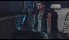 ★ ᴄʟɪᴇɴᴛ ᴡᴏʀᴋ - ᴢᴏᴍʙɪᴇ (ᴏᴛʏʟᴏʀ) (xAurorastorm Resident) Tags: zombie otylor male avatar secondlife photography foxcity mens fashion smoke dark car