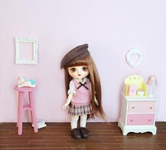 Little Dotory/ Pudding-Vanilla (Dotories) Tags: mudoll glib bjd koreanbjd asianballjointeddoll asianbjd kidbjd doa