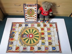 That's odd... (pefkosmad) Tags: jigsaw puzzle hobby leisure pastime complete used secondhand theknightsoftheroundtable ianforesterroberts mythsandlegends kingarthur tedricstudmuffin teddy ted bear animal toy cute cuddly soft stuffed plush fluffy