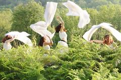 Euphoria (stefaniebst) Tags: euphoria green vert forest woodland woods mountain wild dance danse sauvage aléatoire séquence conceptphoto conceptualphotography fineart fineartphotography ariège france euphorie mouvement mouve