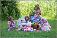 Die  Kindergartenkinder besuchen Schloss Lembeck ... (Kindergartenkinder 2018) Tags: kindergartenkinder annette himstedt dolls milina annemoni tivi sanrike nannett bebé