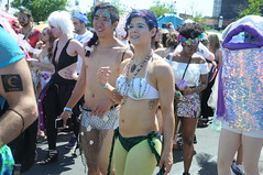 Mermaid Parade 2018 (zaxouzo) Tags: mermaidparade 2018 brooklyn breasts pasties costume coneyisland nyc nikond90 people parade