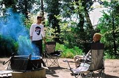 Serious campfire conversation (edwardcgonzales) Tags: velvia velvia50 fuji fujifilm slidefilm film 35mm analog 50mm 50mmf14 canonfd50mmf14 canonfd 50mmf18fd