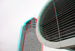 Las Palmas Rotterdam 3D (wim hoppenbrouwers) Tags: laspalmas rotterdam 3d anaglyph stereo redcyan wpc