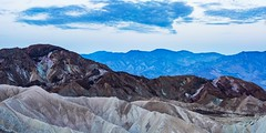 Death Valley - Zabriskie Point - Looking South - Pano (ImNotDedYet) Tags: zabriskiepoint deathvalley deathvalleynationalpark sunrise