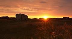 Flamborough Castle Sunset (EmPhoto.) Tags: flamboroughcastle uk ruin ruined sunset emmiejgee landscapepassion sonya7rm2 canon1635mm landscape