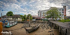 2018#22 (Augustinwee Photography) Tags: fishing village boat fishingport augustinwee cloudly sky outdoor photography panaroma oldandnew modernandtraditional abandon