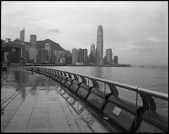 2018-06-19-00031 (qwz) Tags: гонконг hongkong pentax67 sea harbour skyscraper embankment architecture cityscape