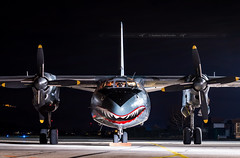 I CMR I LZ-ABR Antonov AN-26 Rose Air (Expendables 3 movie) (Stephane GolfTraveller) Tags: lzabr antonov an26 roseair expendables colmar cmr lfga stephanegolftraveller airport airplane cargo nightshot planespotting flughafen canon famous